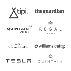 Brocklebank Creative Services Clients Tipi London Quintain Living Regal London