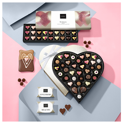 Hotel Choclolat valentines product retouching by Brocklebank Creative Services